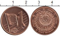 Изображение Монеты Чехия 1 евроцент 2003 Бронза UNC