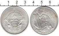 Изображение Монеты Словакия 200 крон 2000 Серебро UNC