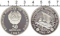 Изображение Монеты Мозамбик 50 метикаль 1983 Серебро Proof-