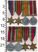 Изображение Подарочные монеты Великобритания Комплект медалей 0  XF- Набор 4 медалей Геор