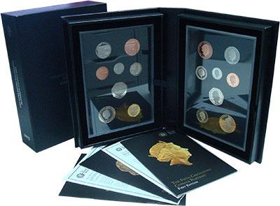 Изображение Подарочные монеты Великобритания Набор 2015 года 2015  Proof В набор входят восем
