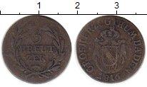 Изображение Монеты Германия Баден 3 крейцера 1816 Медь VF