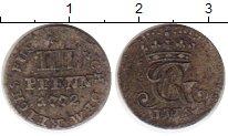Изображение Монеты Германия Ганновер 4 пфеннига 1772 Серебро VF