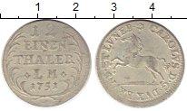 Изображение Монеты Германия Брауншвайг-Люнебург 1/12 талера 1751 Серебро XF-