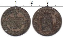 Изображение Монеты Гессен 1 грош 1864 Серебро XF