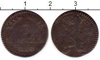 Изображение Монеты Германия Гессен-Дармштадт 3 крейцера 1800 Серебро VF