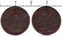 Изображение Монеты Гессен-Дармштадт 3 крейцера 1800 Серебро VF