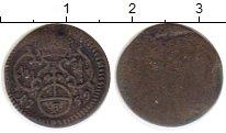 Изображение Монеты Германия Вюрцбург 3 пфеннига 1759 Серебро VF