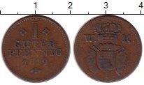 Изображение Монеты Германия Шаумбург-Гессен 1 пфенниг 1819 Медь VF
