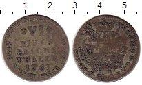 Изображение Монеты Германия Мюнстер 1/6 талера 1763 Серебро VF