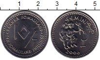Изображение Монеты Сомали Сомалиленд 10 шиллингов 2006 Сталь UNC