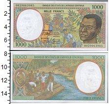 Изображение Банкноты Центральная Африка 1000 франков 0  UNC