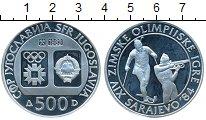 Изображение Монеты Югославия 500 динар 1983 Серебро Proof
