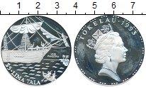Изображение Монеты Новая Зеландия Токелау 5 тала 1993 Серебро Proof-