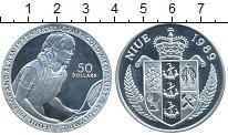 Изображение Монеты Новая Зеландия Ниуэ 50 долларов 1989 Серебро Proof-