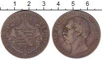 Изображение Монеты Германия Саксе-Мейнинген 1 талер 1863 Серебро XF-