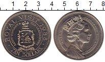 Изображение Монеты Сент-Винсент и Гренадины 10 долларов 1985 Медно-никель UNC-