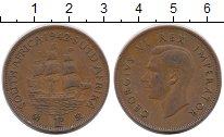 Изображение Монеты ЮАР 1 пенни 1942 Бронза XF-