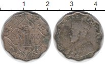 Изображение Монеты Индия 1 анна 1914 Медно-никель VF