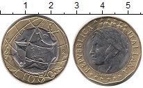 Изображение Монеты Италия 1000 лир 1997 Биметалл UNC-