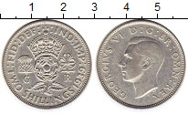 Изображение Монеты Великобритания 2 шиллинга 1939 Серебро XF