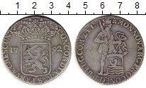 Изображение Монеты Нидерланды Зеландия 1 дукат 1792 Серебро VF