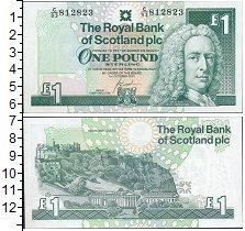 Изображение Банкноты Великобритания Шотландия 1 фунт 2001  UNC