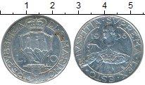 Изображение Монеты Сан-Марино 10 лир 1936 Серебро XF