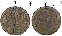 Изображение Монеты Ирак 1 филс 1938 Бронза UNC-