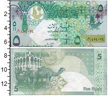 Изображение Банкноты Катар 5 риалов 0  UNC