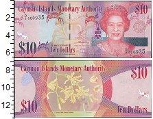 Изображение Банкноты Каймановы острова 10 долларов 2014  UNC