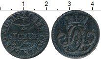 Изображение Монеты Германия Кёльн 1/4 стюбера 1741 Медь VF