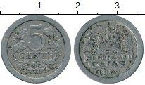 Изображение Монеты Нидерланды 5 центов 1909 Медно-никель XF