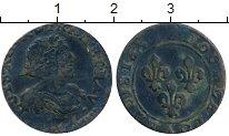 Изображение Монеты Франция 2 турнуа 1639 Медь VF