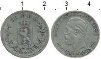 Изображение Монеты Норвегия 50 эре 1893 Серебро XF