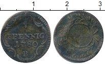 Изображение Монеты Германия Бранденбург-Байрот 4 пфеннига 1780 Серебро VF