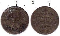Изображение Монеты Германия Гослар 6 пфеннигов 1715 Серебро VF