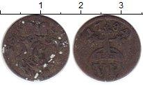 Изображение Монеты Германия Шварцбург-Рудольфштадт 6 пфеннигов 1784 Серебро VF