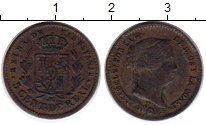 Изображение Монеты Испания 5 сентим 1860 Медь VF