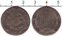 Изображение Монеты Испания Каталония 1 песета 1836 Серебро VF