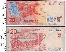 Изображение Банкноты Аргентина 20 песо 2017  UNC