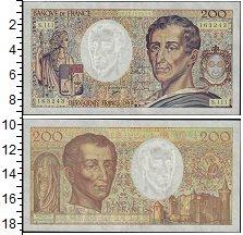Изображение Банкноты Франция 200 франков 1992  UNC-