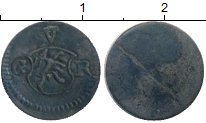Изображение Монеты Швейцария Граубюнден 1 пфенниг 0 Серебро XF-
