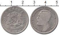 Изображение Монеты Швеция 1 крона 1883 Серебро VF