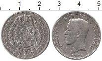Монета Швеция 1 крона Серебро 1925 XF фото
