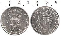 Изображение Монеты Швеция 2 кроны 1963 Серебро UNC