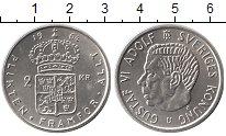 Изображение Монеты Швеция 2 кроны 1964 Серебро UNC