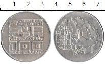 Изображение Монеты Австрия 100 шиллингов 1977 Серебро UNC-