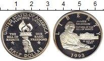 Изображение Монеты США 1/2 доллара 1993 Медно-никель Proof-