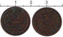 Изображение Монеты Австрия 2 геллера 1906 Бронза VF